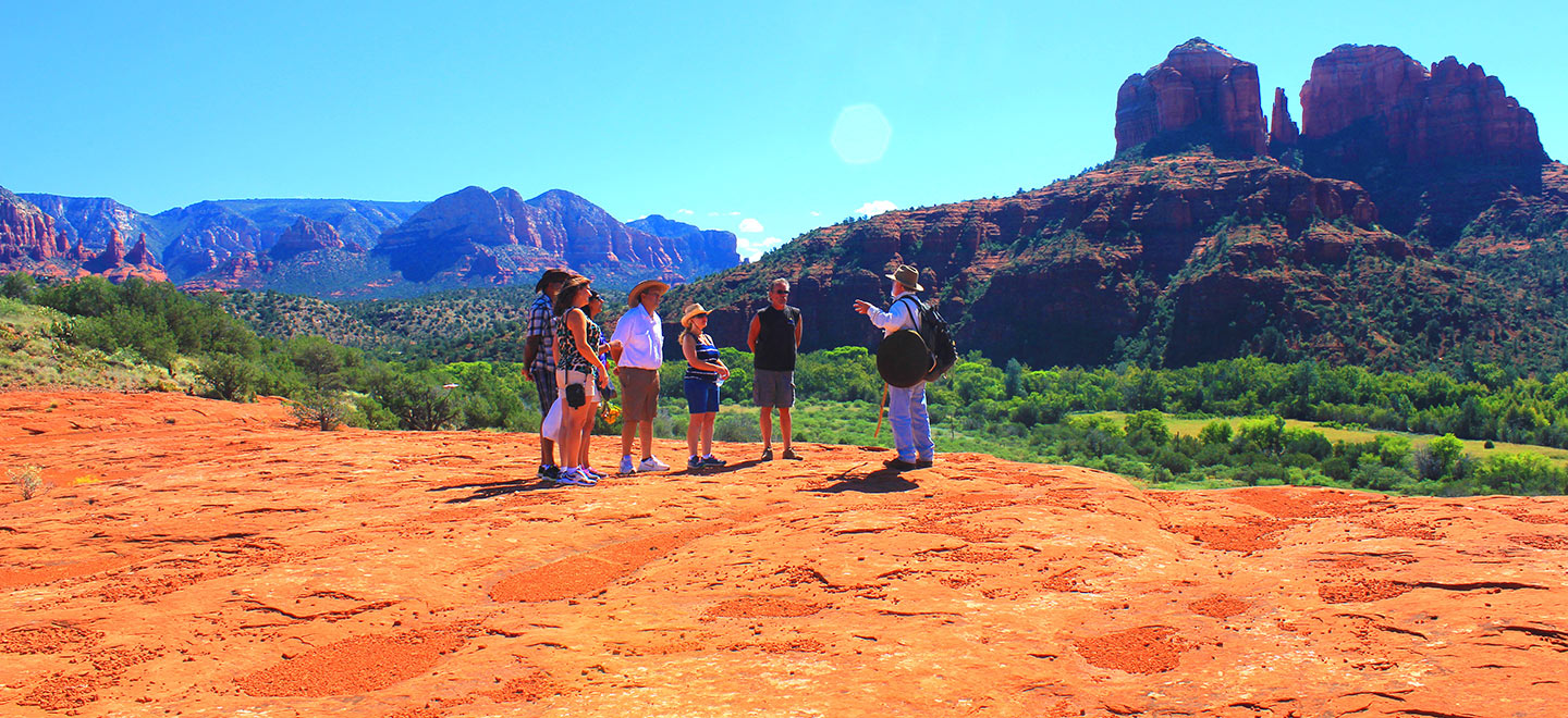SpiritQuest Sedona Retreats offer personal, group, and day retreats