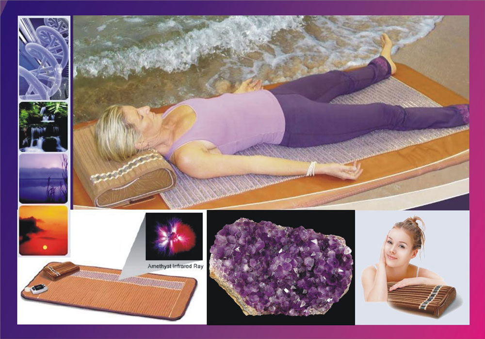 Biomat Crystal Activation will Balance your complete body leaving you in a state of peace