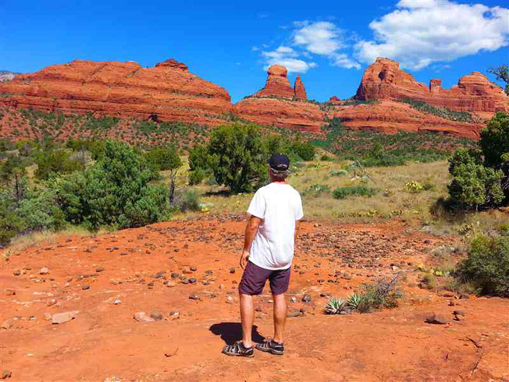 Hiking in the Vortexes of Sedona, AZ brings self-love and self-awareness back into your life.