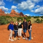 Group Retreat clients enjoy the Sacred land of Sedona