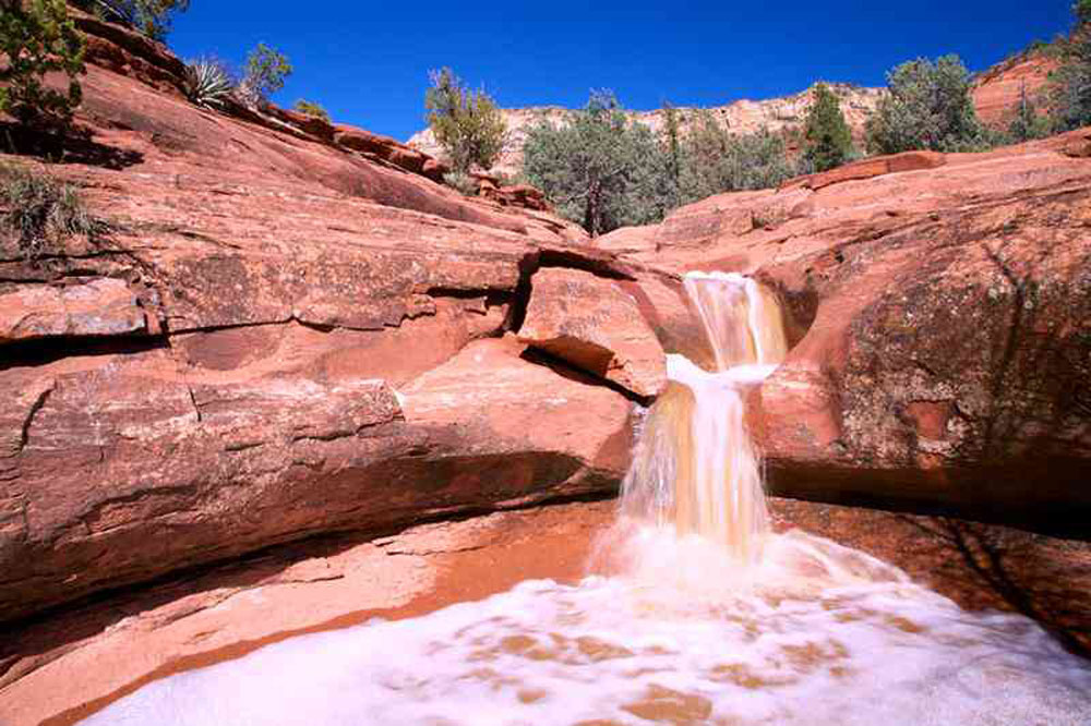 Experience the connection with water and earth while on a Sacred Earth Wisdom Journey with SpritQuest Sedona Retreats