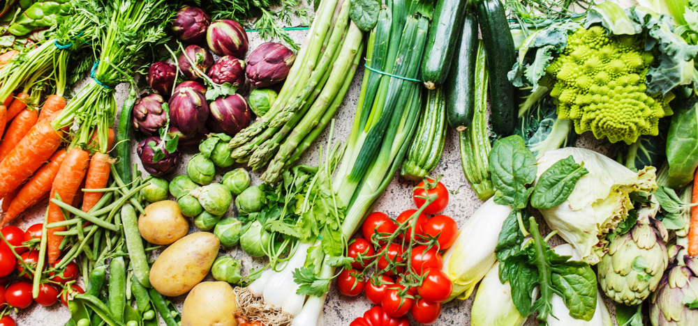 vegetables and health for wellness retreats